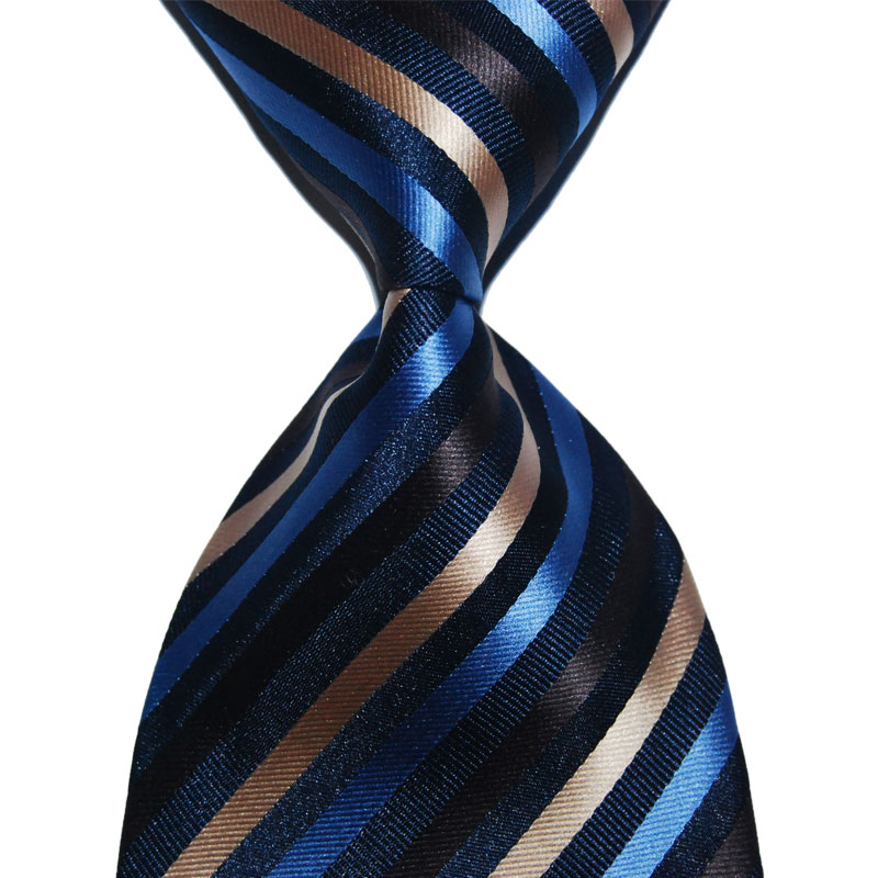 Formal Wear Suit Tie Silk Necktie Gift For Men Striped 10cm Wide Multicolor Fashion Jacquard Woven For Business Christmas Party