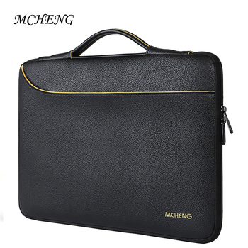 MCHENG Waterproof Shockproof Fashion PU Laptop Sleeve Case For 10