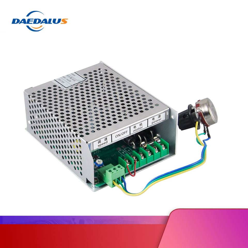 CNC Spindle Power Supply 300W Switching Power Supply Governor DC 0-48V For Spindle ER11 Motor 300W Air Cooled Router Machine