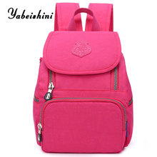 New ladys nylon Backpack Womens Travel Backpacks mochila mujer school backpacks for teens Girls shoulde bag Sac A Dos Preppy