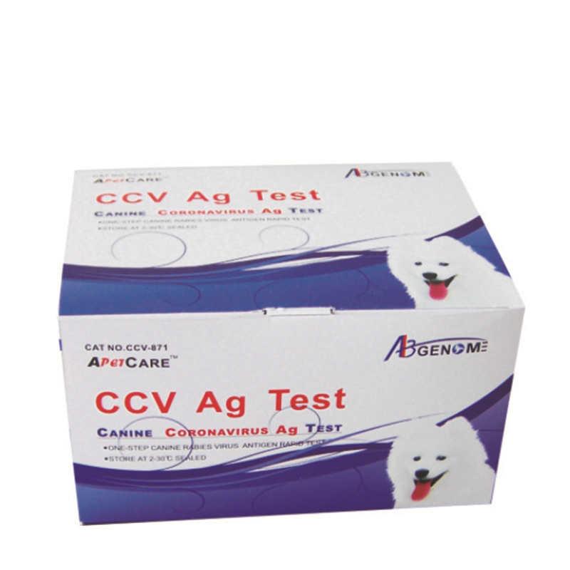 Wondcon Thú Y Test Thử Nhanh Một Bước Nanh Coronavirus Ag Test Thử Nhanh Ccv