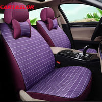 CARTAILOR Sport Car Seat Covers Cars Seats Cover Protector Linen Car Styling for lexus gx470 gx 460 Car Seat Cover Accessories