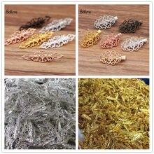 Филигранные заколки для волос BoYuTe (5 шт./лот), винтажные аксессуары для волос, Заводская поставка материалов ручной работы «сделай сам»