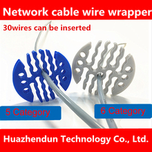 Thick NEW 5 category/6 category Network module network cable comb machine Wire harness Arrangement tidy tools for computer room