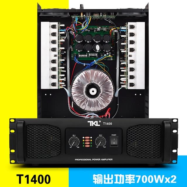 TKL T1400 8ohms 700w amplificateurs de puissance 2 canaux pour scène de barres