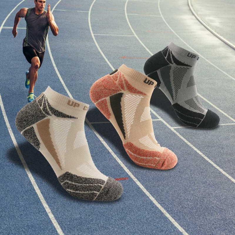 UGUPGRADE Cotton Men's Running Women Socks Cycling Riding Bicycle Bike Football Socks Breathable Basketball Sport Socks