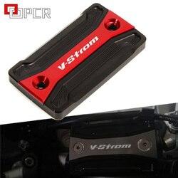 For SUZUKI V-Strom 250 650 1000 DL250 DL650 DL1000/V-Strom1000/XT Motorcycle Front Brake Cylinder Cap Fluid Reservoir cover