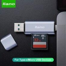 Memory-Card-Reader Type-C/micro-Usb-Adapter Laptop/camera Multi Usb-3.0 Smart LLANO