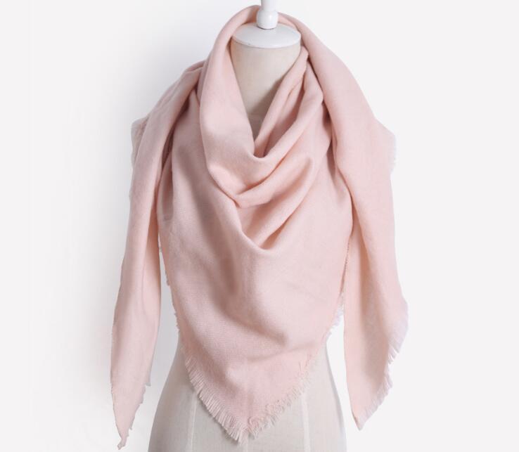 Новый кашемировый шарф на осень и зиму