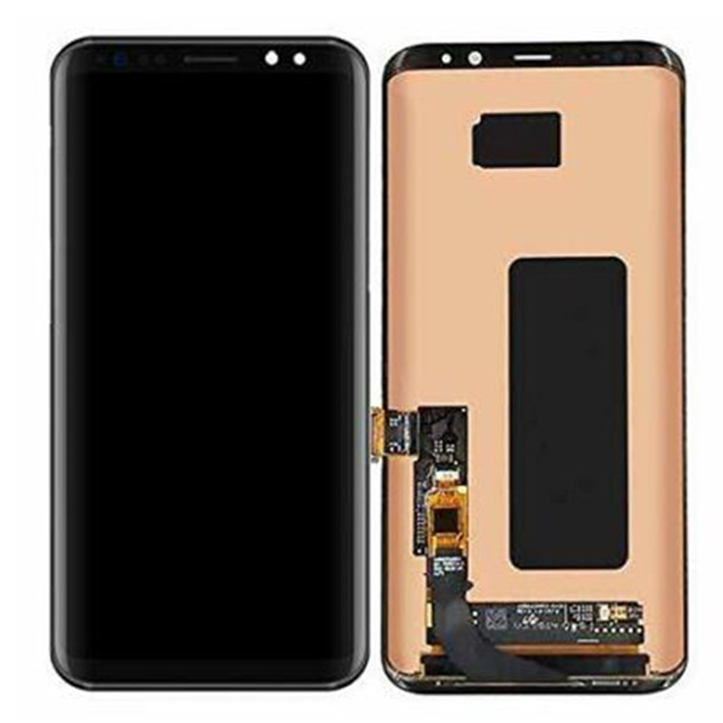 100% Original  AMOLED  For Samsung Galaxy S8 G950A G950U G950F LCD Display Touch Screen Digitizer Assembly With Line