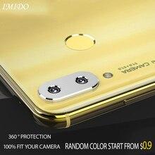 Full Cover Camera Lens Protective Case for Huawei Nova 3 3i 3E Aluminum Metal Ring