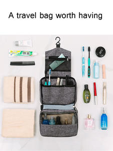 Cosmetic-Bag Travel-Organizers Storage Multi-Functional Folding Women Wash And Linked