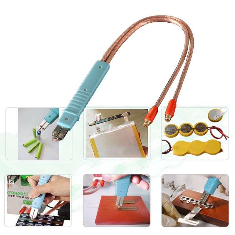 Handheld Spot Welding Pen DIY Spot Welder Welding Machine Accessories for Lithium Battery Circuit Board Hardware Parts