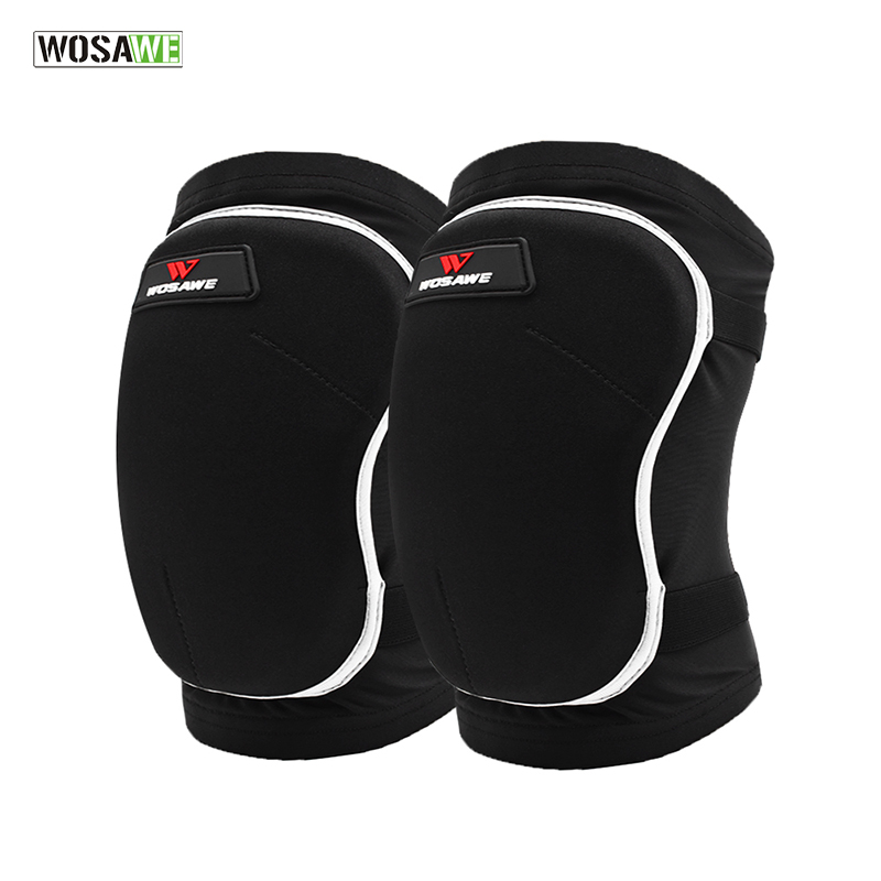Thicken EVA Knee Brace Dancing Cycling Kneepads genouillere sport rodillera deportiva MTB Bike Bicycle Downhill Knee Protector