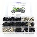 Полный Комплект болтов для мотоцикла Kawasaki ZX6R ZX-6R ZX6RR ZX-6RR 2009 2010 2011 2012  крепежные зажимы