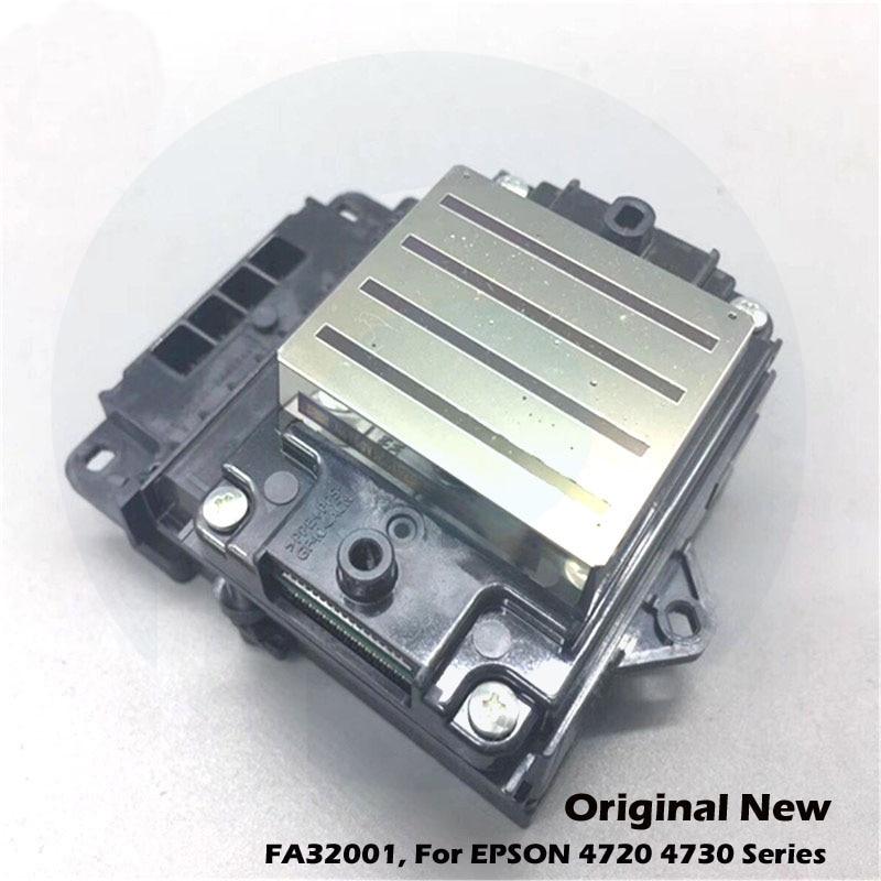 Original New For Epson 4720 EPS3200 4730 Printer Head For WF4720 4730 WF4720 Printerhead Printhead FA32001