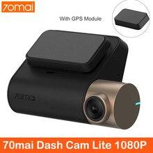 70mai WiFi Dash Cam Lite 1080P Ultra HD Auto DVR 24 ORE di Parcheggio Monitor Con WIFI Car DVR 1920 × 1080 500mAh FOV 130 Degr