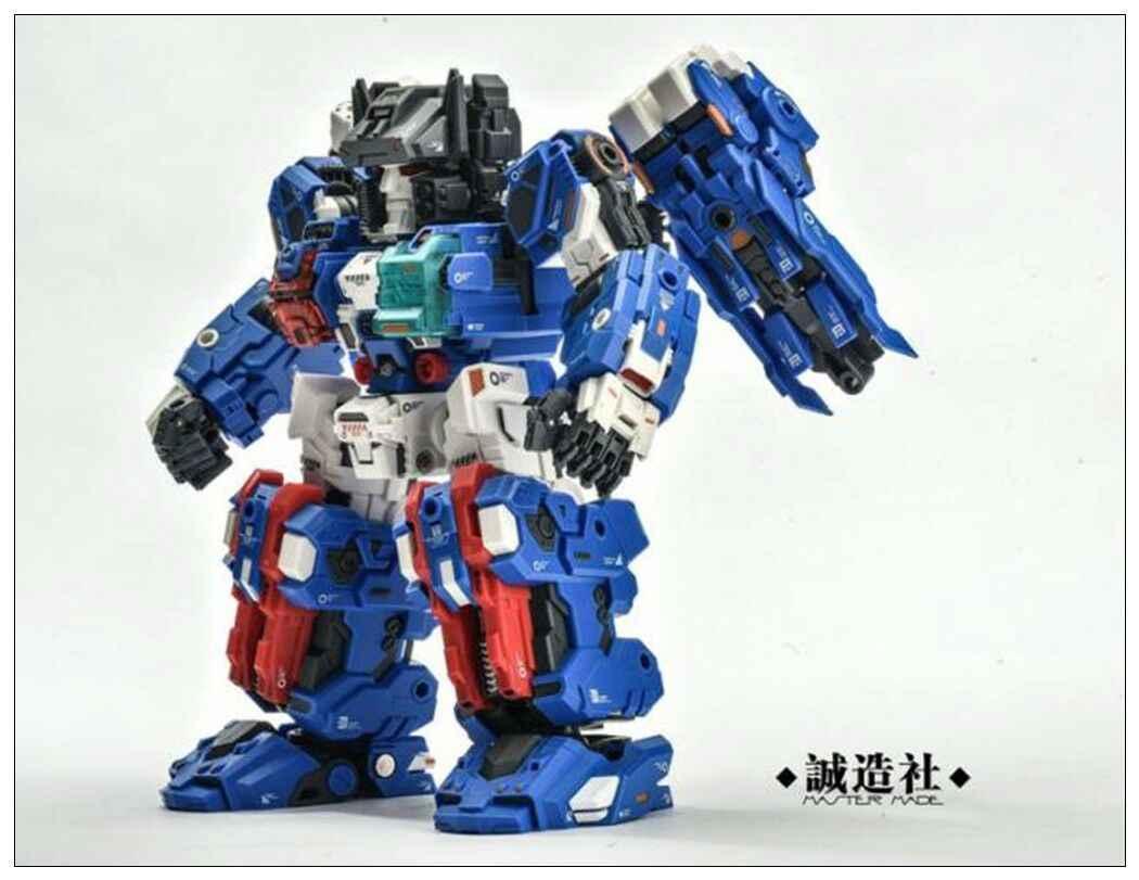 Nowy mistrz wykonany SDT-05 Robot Odin Fortress Maximus wersja Q figurka zabawka