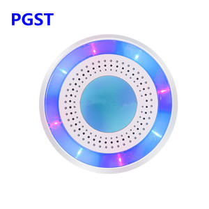Image 2 - 433mhz 무선 소리와 빛 사이렌 100dB 독립 실행 형 스트로브 사이렌 홈 보안 사운드 경보 시스템