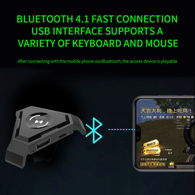 Gamepad Pubg Mobile Bluetooth 4.1 Android PUBG Mobile Controller Keyboard Mouse Converter