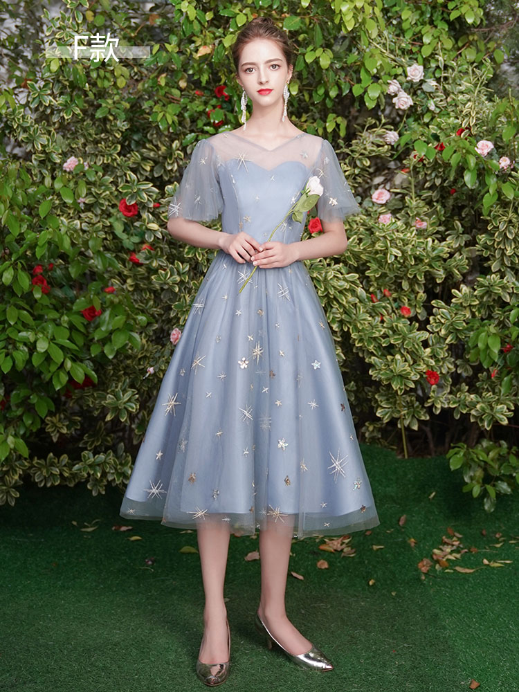Bridesmaid Dresses 2020 Long A Line Lace Up Wedding Party Prom Women Dresses Formal Occasion Graduation Girl Dresses