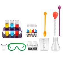 1 Set Kids Scientist Laboratory Experiment Chemistry Kit STEM Educational Toys