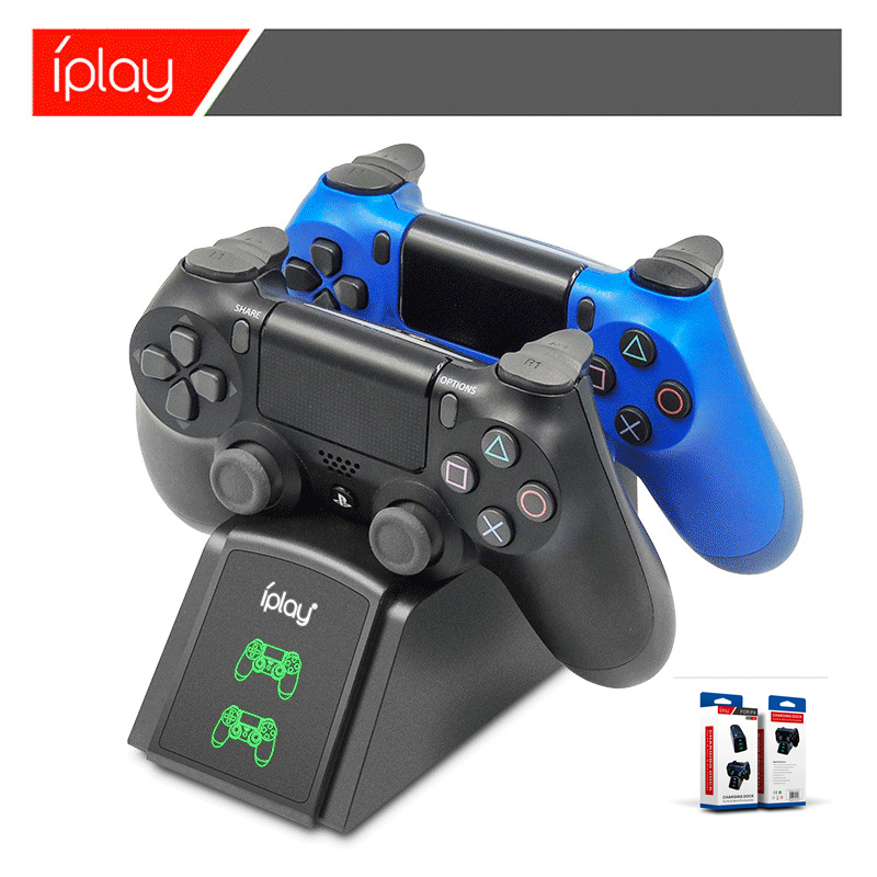 PS4 Controller Charger Twin 4 Controller USB Charging Station Dock Station For Sony Playstation4 / PS4 / PS4 Slim / PS4 Pro