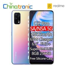 Original realme Q2 Pro 8GB 256GB 5G Handy Octa Core 6.4