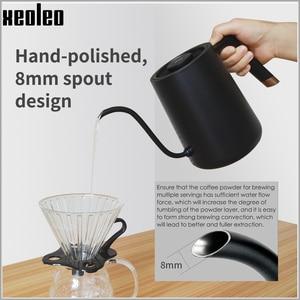Image 2 - 700Mlสมาร์ทกาต้มน้ำกาแฟQuickความร้อนกาแฟหม้อกาต้มน้ำไฟฟ้ามือกาแฟอุณหภูมิตัวแปรดิจิตอลGooseneck