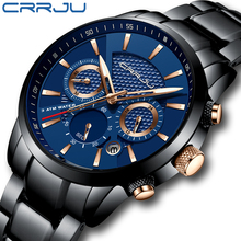 CRRJU high-end classic men's watch, lightweight sports field
