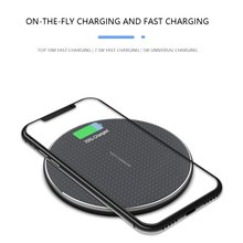 10W High Power Wireless Mobile Phone Charger Aluminum Fast Fashion For Iphone / Android