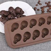 10 siatki forma do ciast czekoladowych Halloween Bone Ghost kremówka kształt dyni forma do ciasta mydło formy narzędzia do dekoracji ciasta dropship