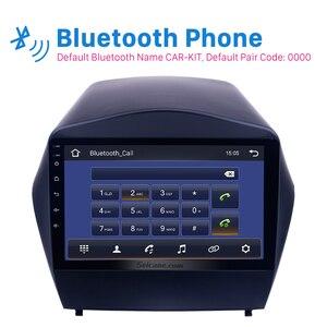 Image 3 - Seicane 안 드 로이드 9.0 2din 자동차 라디오 2009 2010 2011 2012 2015 현대 IX35 GPS 멀티미디어 플레이어 블루투스 OBD2 2GB RAM