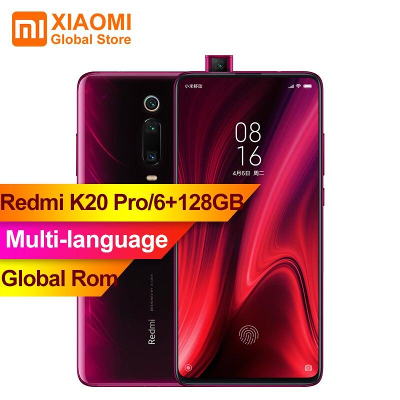 Global Rom Xiaomi Redmi K20 Pro 6GB RAM 128GB ROM Snapdragon 855 Octa Core 6.39