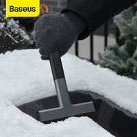 Baseus Snow Ice Scraper Car Windscreen Ice Remover Auto Window Cleaning Tool Winter Car Wash Accessories Scraping Tool