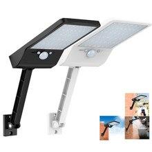 48 Светодиодный светильник на солнечной батарее светильник с устройством дистанционного управления настенный светильник 3 режима затемнен...