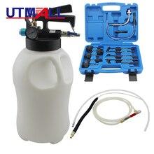 10L שידור פנאומטי שמן מילוי כלי Extractor נוזלי Dispenser מילוי משאבת כלי ערכת עם 13pcs ATF מתאם
