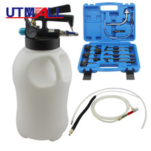 10L Pneumatic Transmission Oil Filling Tool Fluid Extractor Dispenser Refill Pump Tool Kit With 13pcs ATF Adaptor(China)