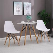4/6 Pcs/Set Dining Chairs With Wooden Legs Nordic Multiple Colours High-Quality Dining Room Furniture Chairs Leisure Chair HWC