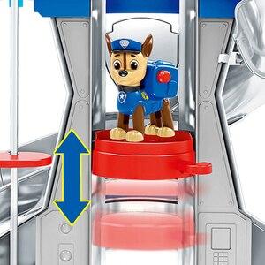 Image 3 - Patte Patrol jouets pour enfants, Base de sauvetage, Center de commandement, patrouille de chiots, ensemble de figurines de dessin animé, modèle, cadeau pour enfants
