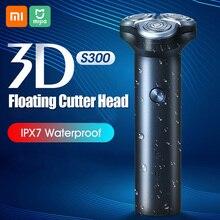 Электробритва портативный триммер для волос IPX7 3D плавающая бритва Type C с зарядкой, моющаяся бритва с 3 лезвиями для бритья бороды