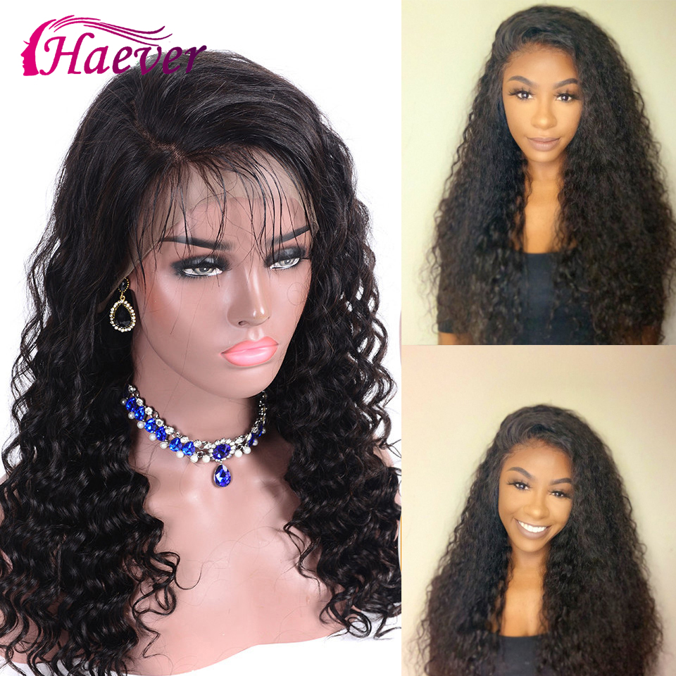 Haever Lace Front Malaysia 13x6 150% Lace Frontal Closure Wig Water Wave Natural Human Hair Wigs Pre-Plucked With Baby Hair Remy