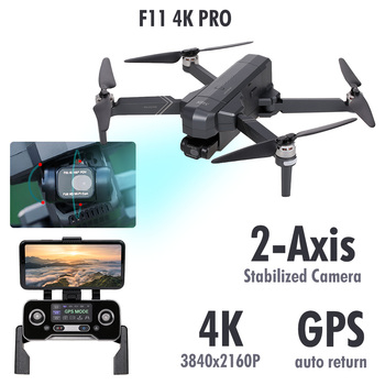SJRC F11 PRO RC Drone with Camera 4K 2-axis Gimbal Brushless Motor GPS