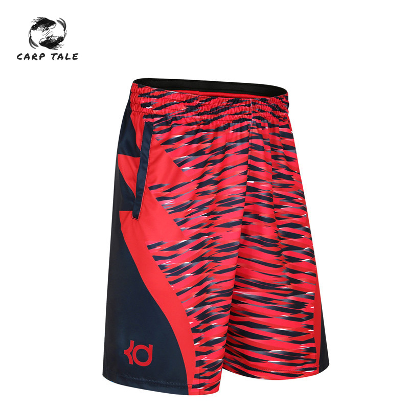 Cross-border Blasting Basketball Sports Shorts Five  Trousers James Durant Sports Shorts Male Loose Large Size Over The Knee