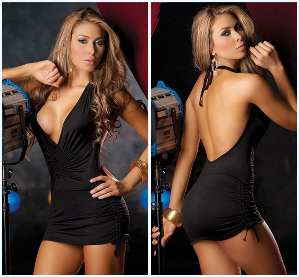 New Hot Babydoll Night Club Women Lingerie Hot Sexy Dress Erotic Teddy Sex Underwear Sex Porno Costumes V-neck Sleepwear