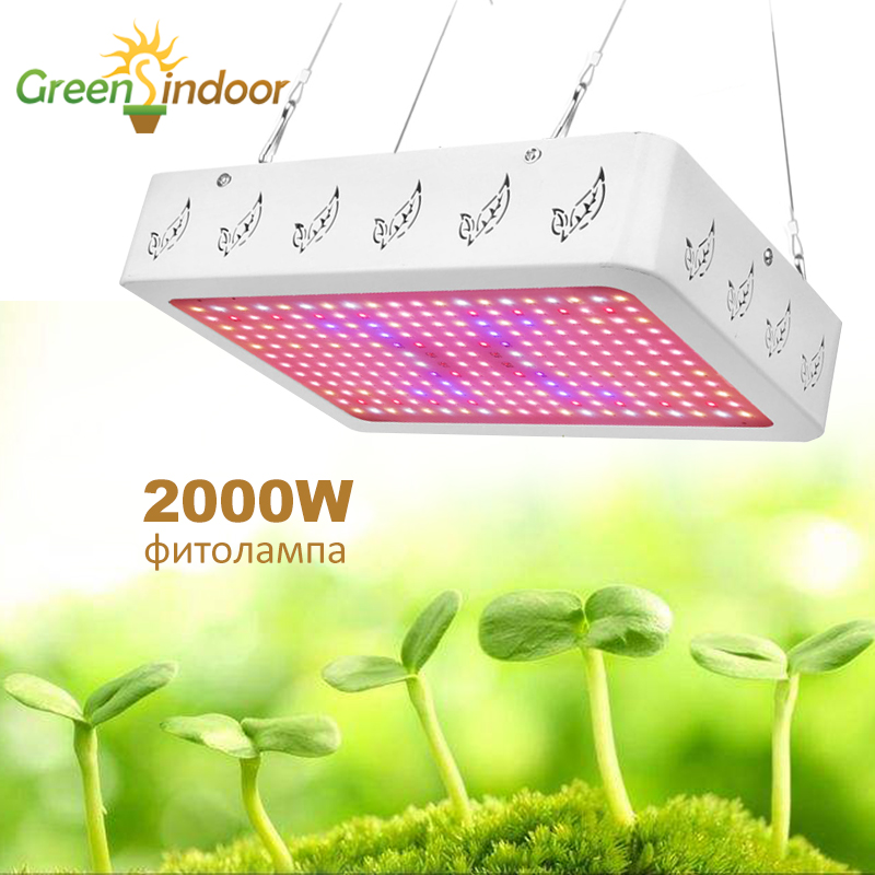 Full Spectrum LED Grow Light 1000W 2000W Phyto Lamp For Plant Indoor Growing Lamp Leds Fitolamp Grow Tent Flower Seedlings Herbs