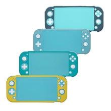 ミニnsスイッチlite tpu保護シェルのためのnintendosスイッチコンソールシェルケースアンチスクラッチ防塵透明クリスタルフィルム