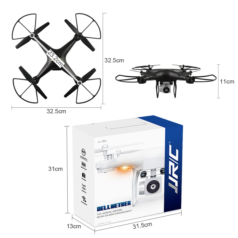 Jjrc H68 Unmanned Aerial Vehicle Ultra-long Life Battery WiFi High-definition Camera Quadcopter Profession Aerial Remote-control