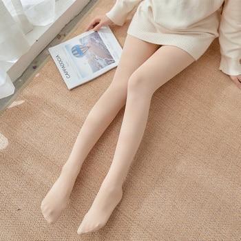 Pantyhose Spring and Autumn Velvet Silk Seamless Tights High Elastic Anti-snaking Long Tube Socks