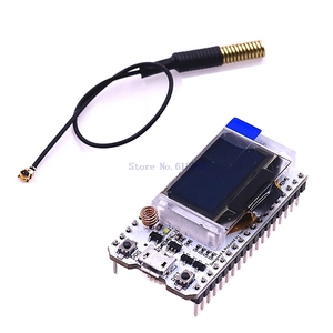 Плата для разработки Интернета A5 -- SX1278 LoRa ESP32, синий OLED дисплей 0,96 дюйма для bluetooth, Wi-Fi, комплект Lora 32 модуля, 433 МГц